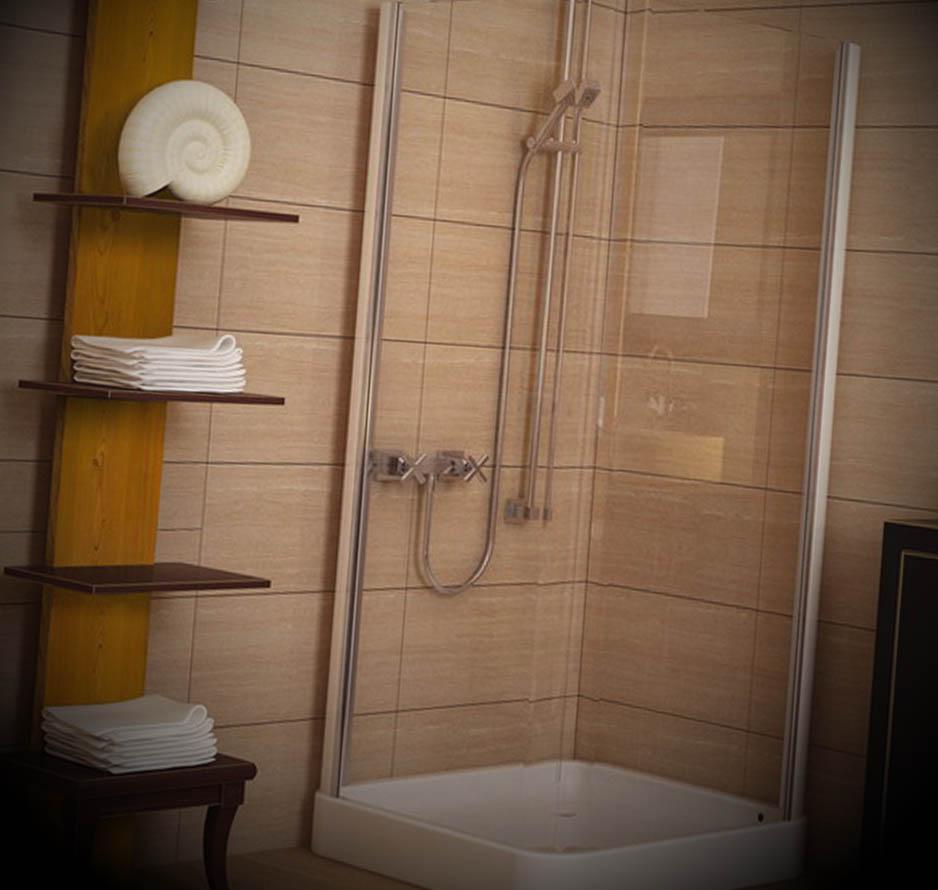 Banheiro Pequeno com Chuveiro