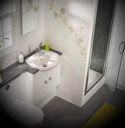 Banheiro Pequeno e Decorado