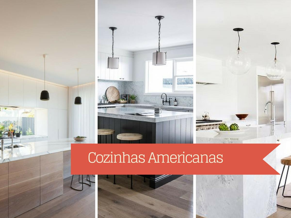 Decoração de Cozinhas Americanas #AD2F1E 1200 900