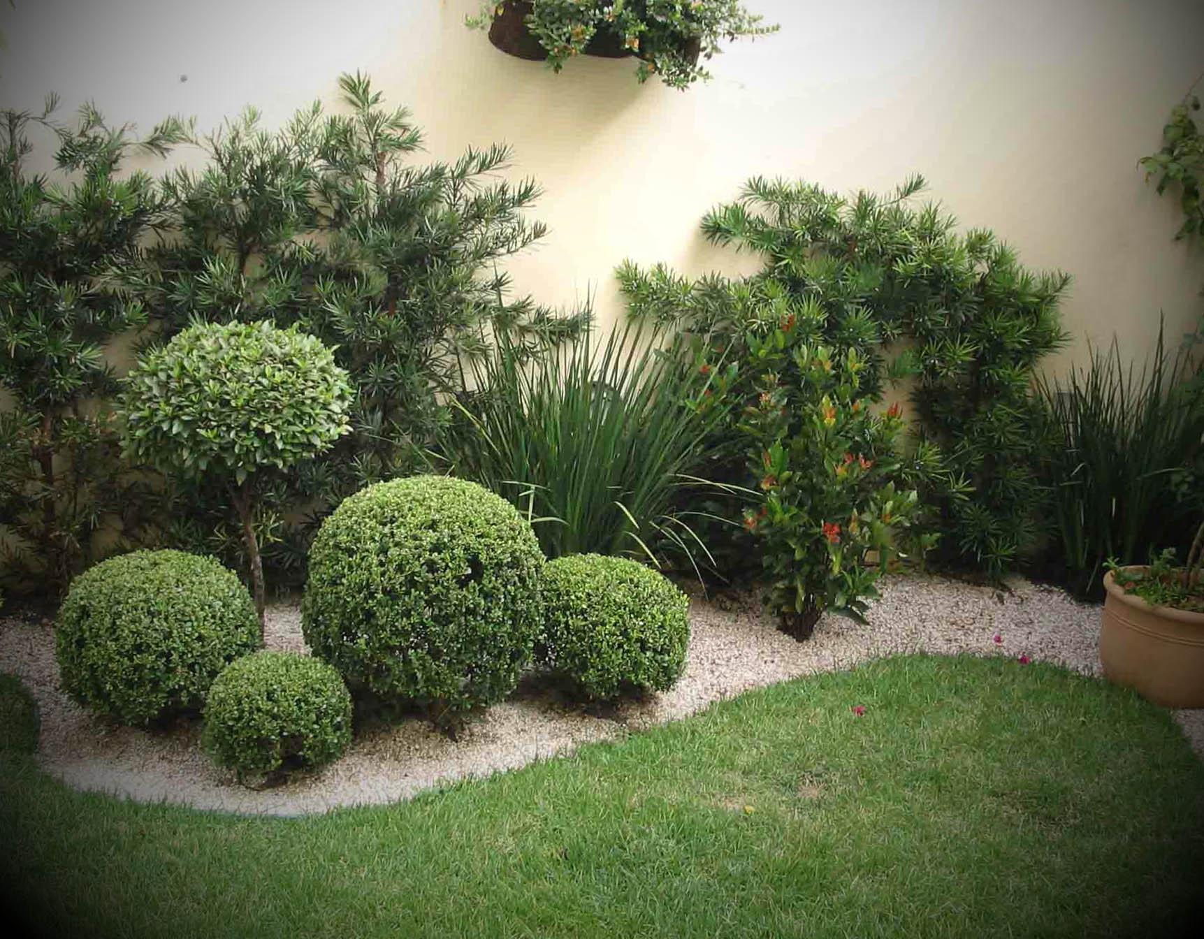 Imagens de Jardins Decorados