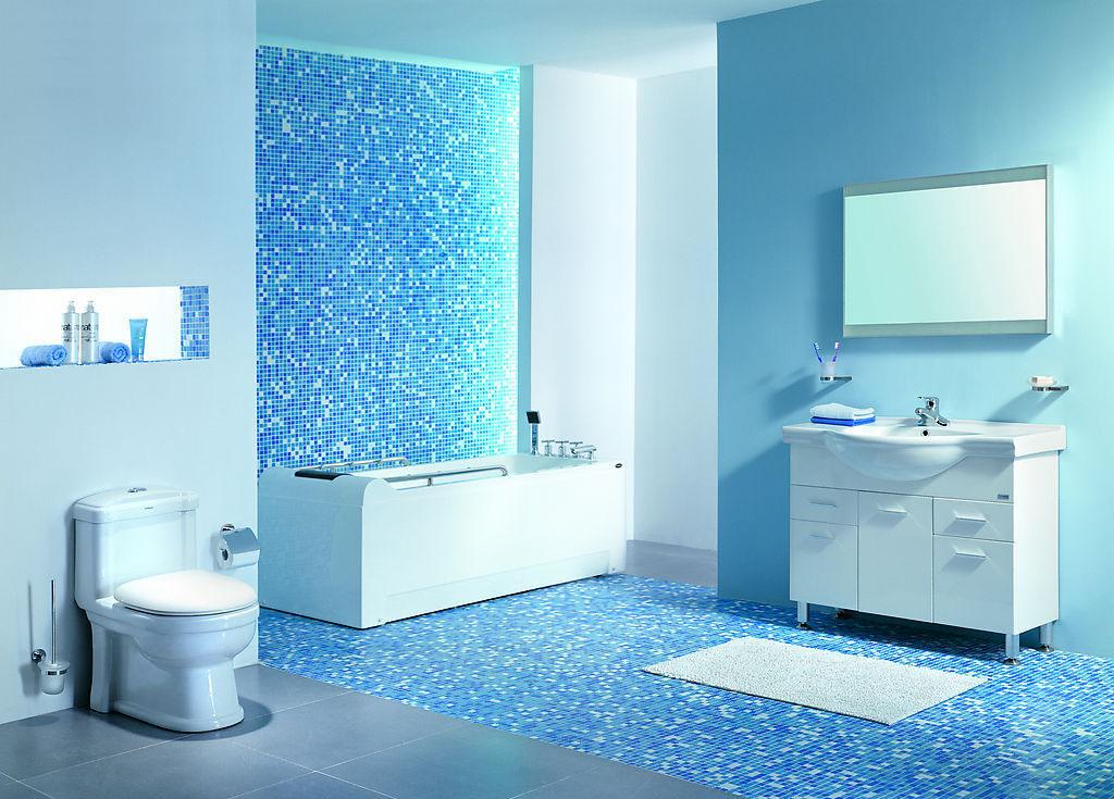 Pastilhas de Vidro Banheiro