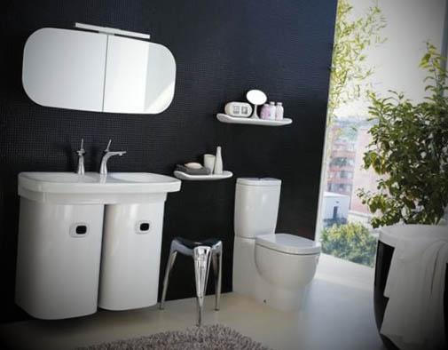 decorar banheiro feio:12 Ideias de Banheiros Modernos Decorados