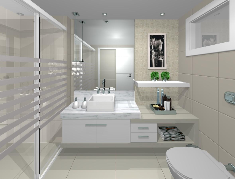 banheiros modernos simples