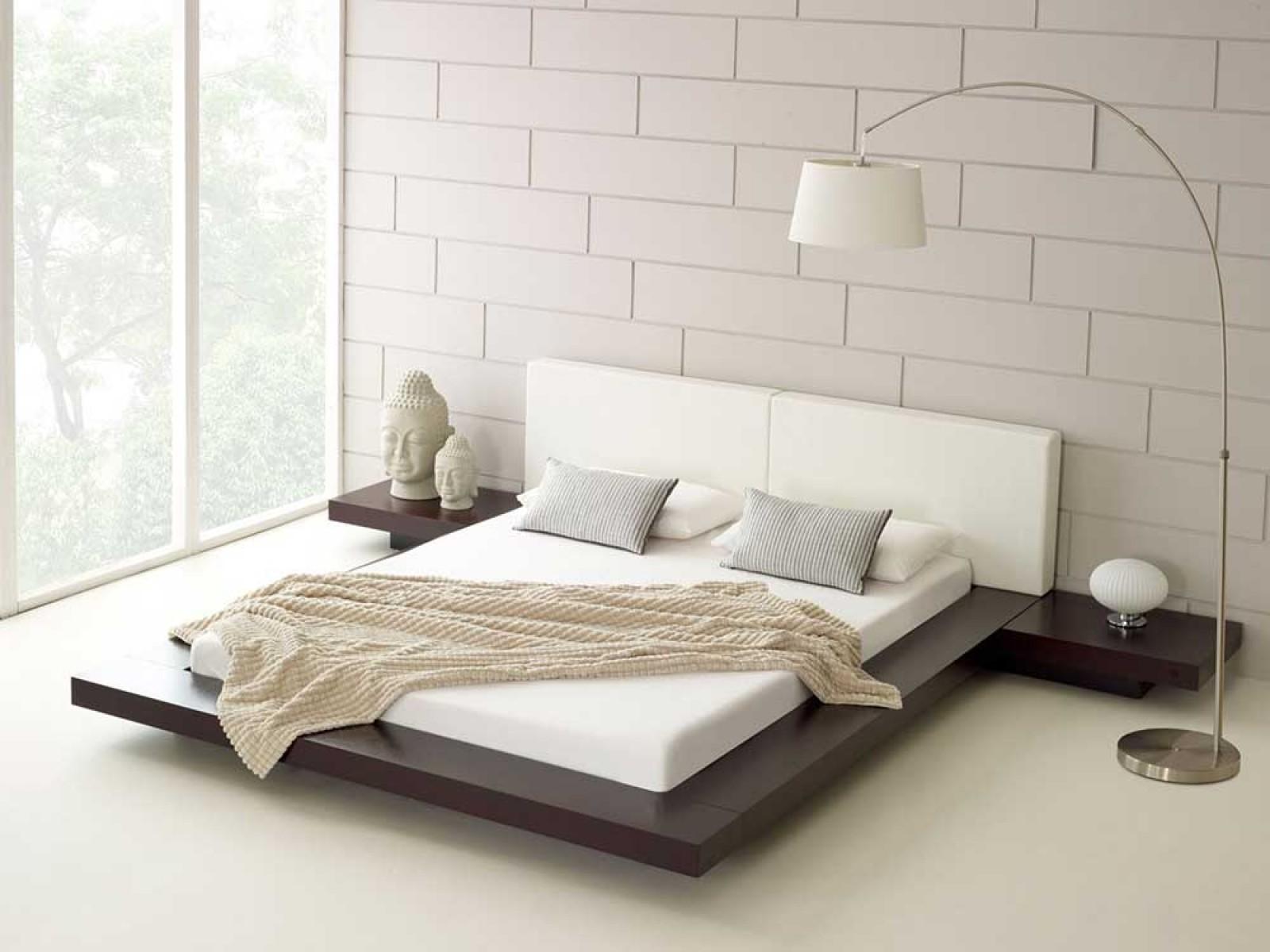 cama moderna simples
