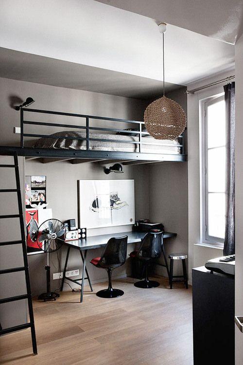 cama suspensa quarto