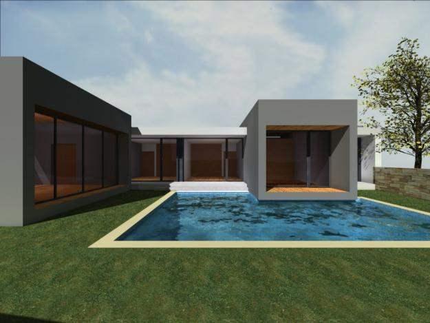 Casas modernas com piscinas confira fotos e modelos for Casas modernas com piscina