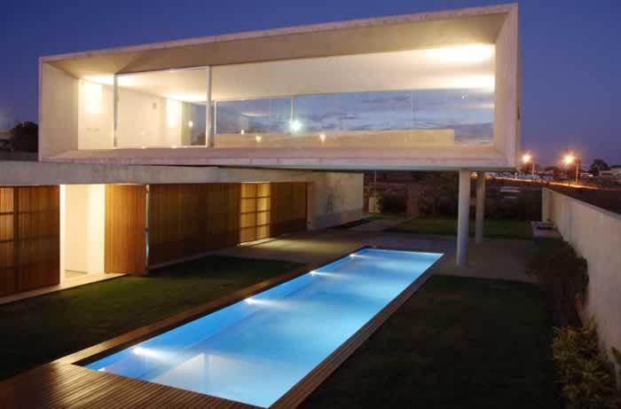 casas modernas com piscina ideias