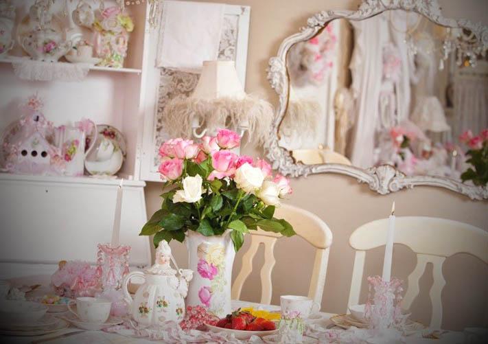 Como-fazer-decoracao-shabby-chic~ Decoracao Interiores Shabby Chic