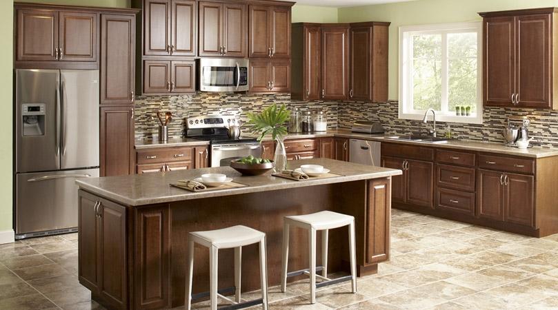 cozinha americana rustica
