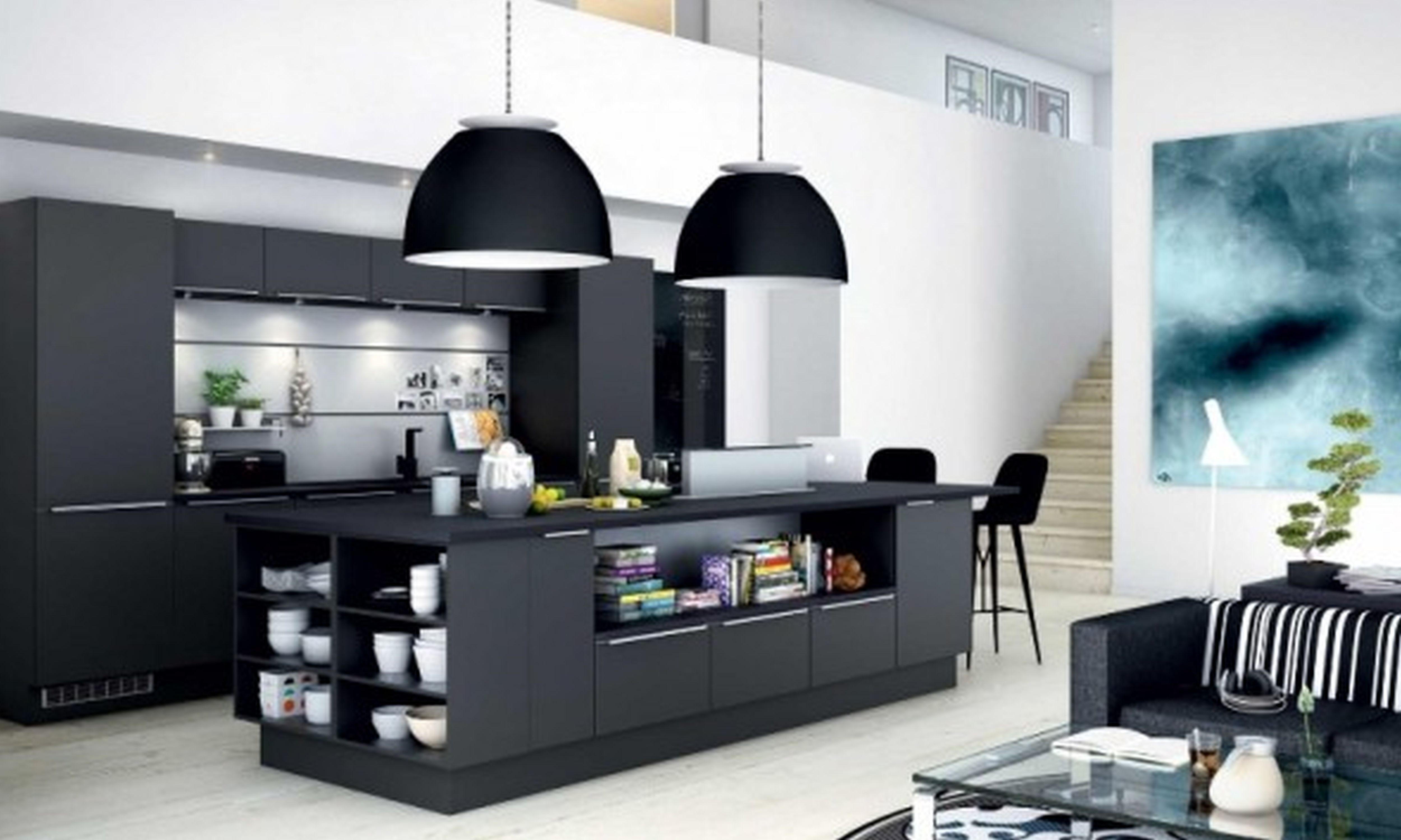 cozinha-americana-simples-na-sala
