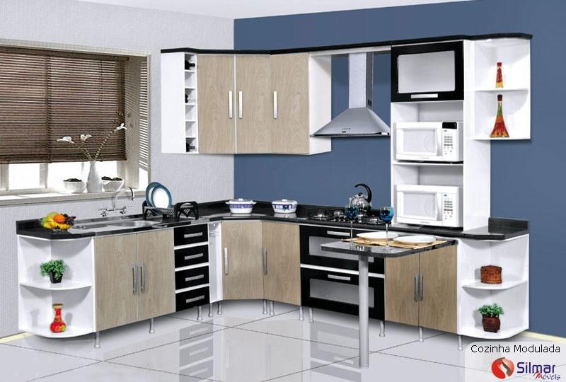 cozinha modulada silmar