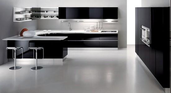 cozinhas modernas em L