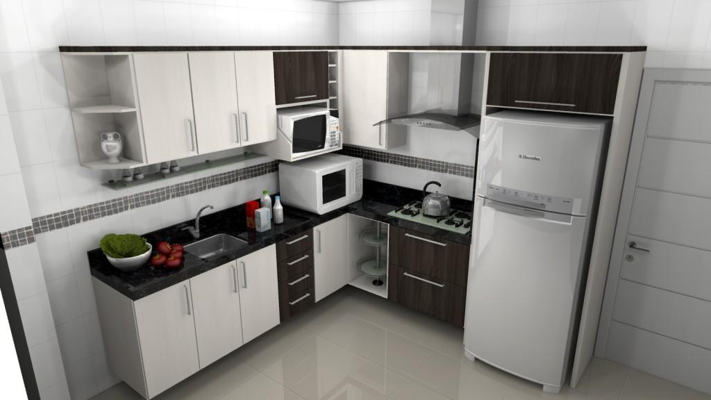 cozinhas planejadas pequenas1