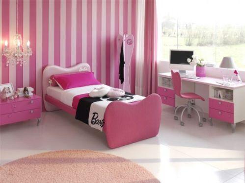 decoração rosa para quarto de menina