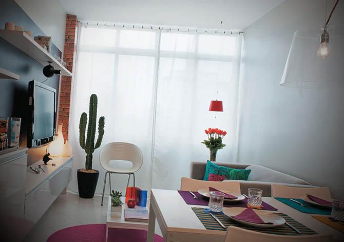 decoracao de apartamentos pequenos alugados : decoracao de apartamentos pequenos alugados:Apartamento Pequeno Alugado Com Boas Ideias De Decoraà §à £o