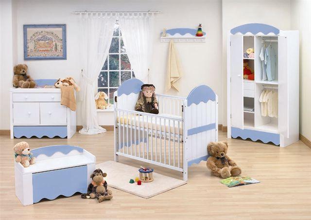 Móveis para quarto de bebé