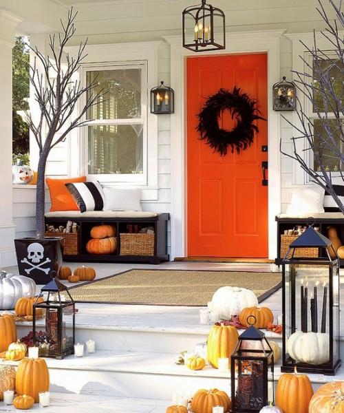 Decoração da Casa para o Halloween