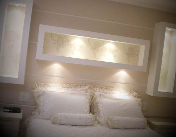 Fotos de quarto decorado com gesso -> Decoracao De Teto Gesso