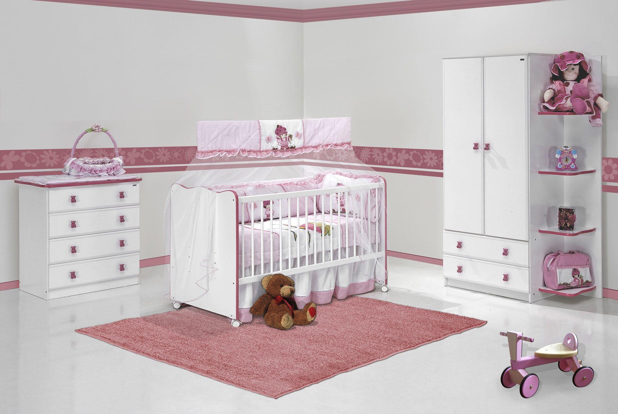 decoracao de quartos infantil feminino simples