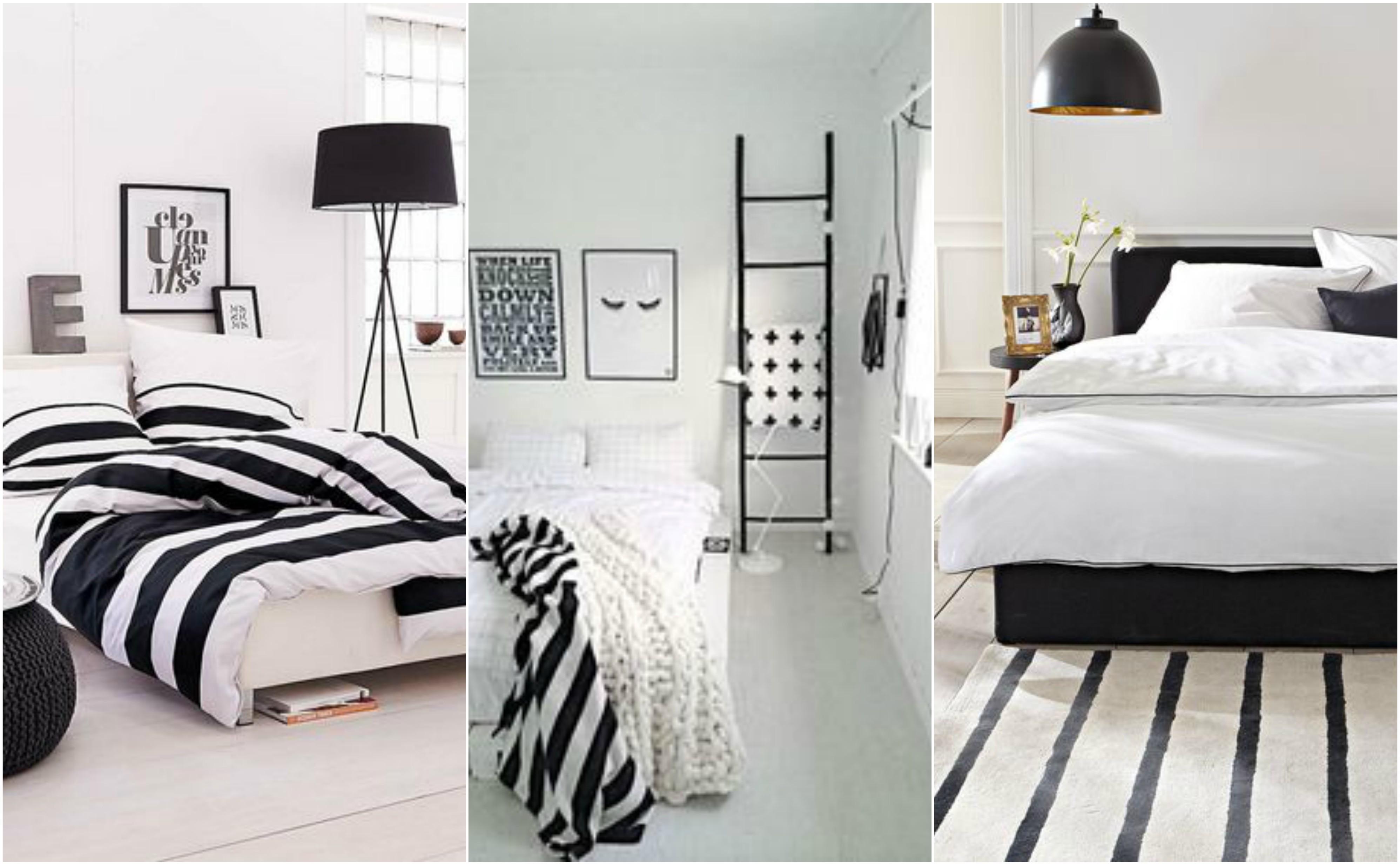 Ideias e dicas para Decorar quarto preto e branco