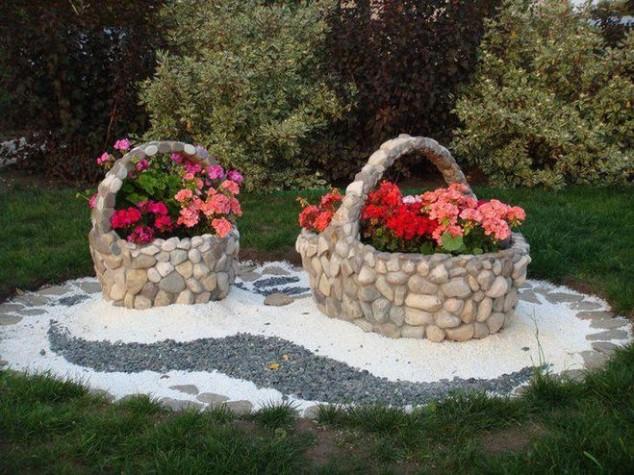 ideias jardins grandes:Garden Ideas with Rocks and Stones