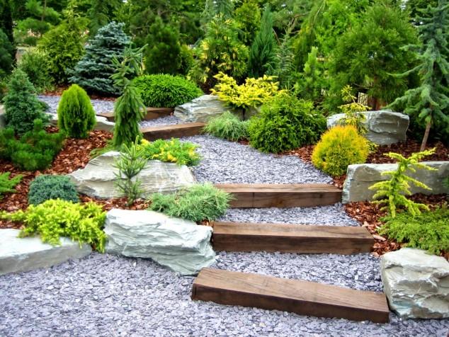 decorar jardim com pedras 10