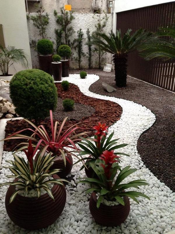 decorar jardim com pedras 6