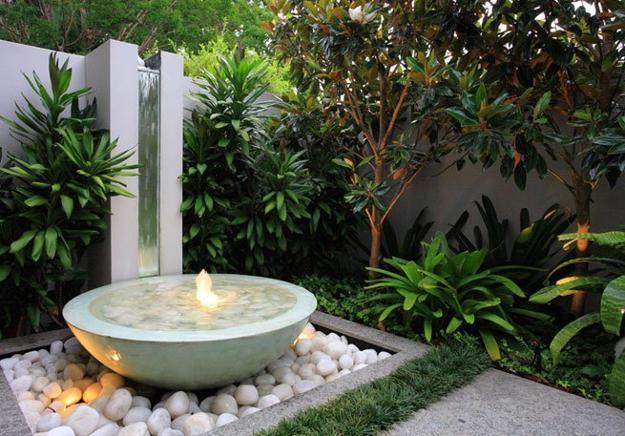 decorar jardim com pedras 7