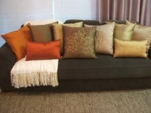decorar salas almofadas