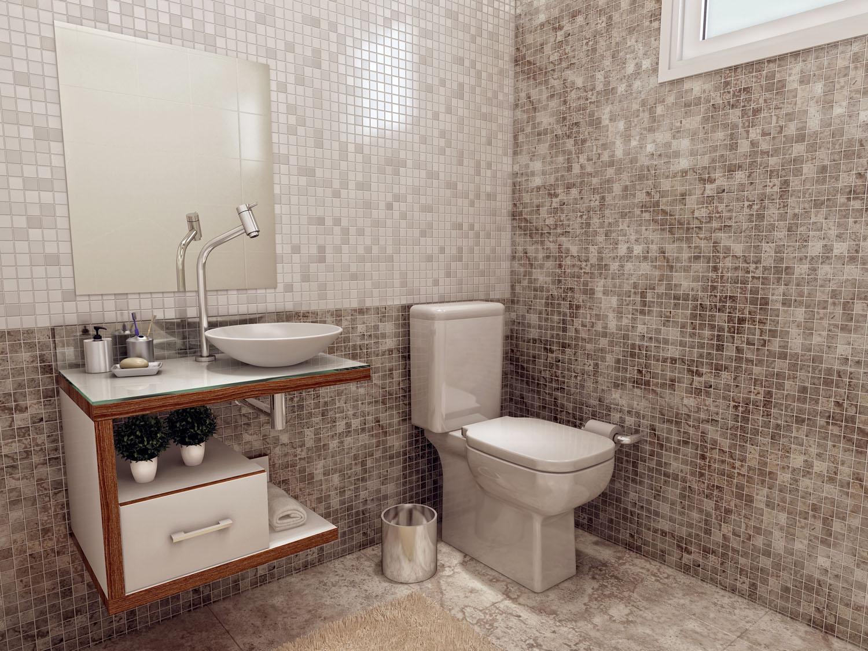 dicas banheiro simples