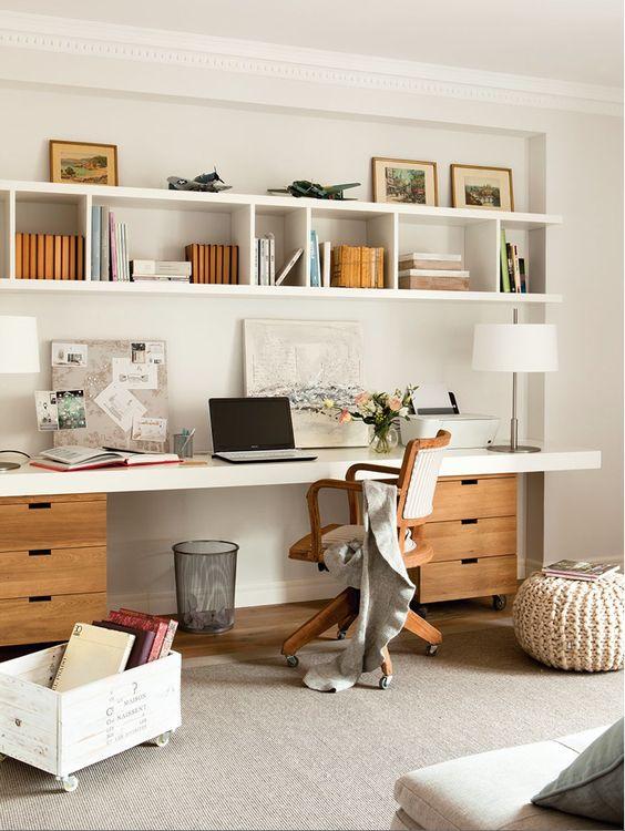 dicas decoracao escritorio claro