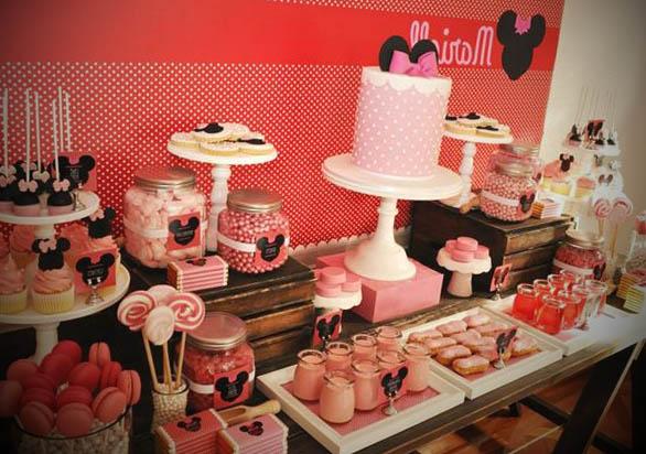 Decoração da Minnie para Festas
