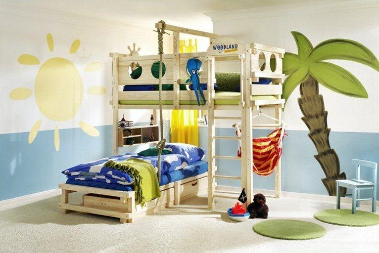 fotos beliches divertidos para quartos de criancas