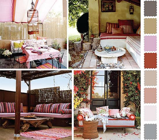 Decoração de Interiores Floridos
