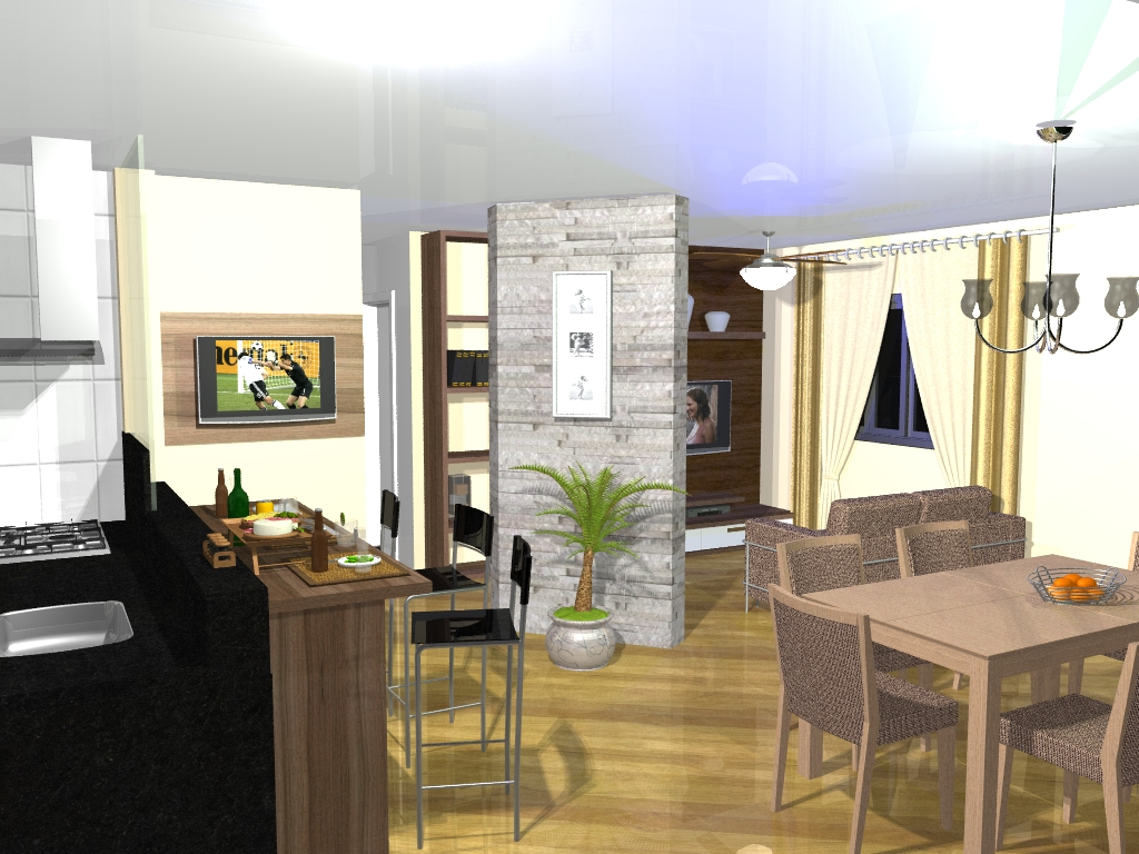 ideias salas conjugada