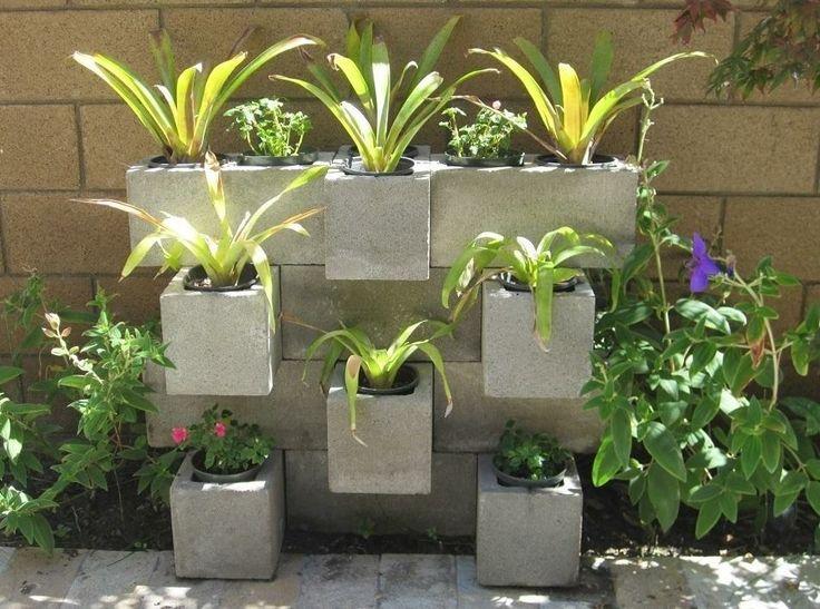jardim com cimento 4