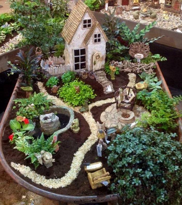 quarto jardim de fadas:Ideias de Jardins de Conto de Fadas