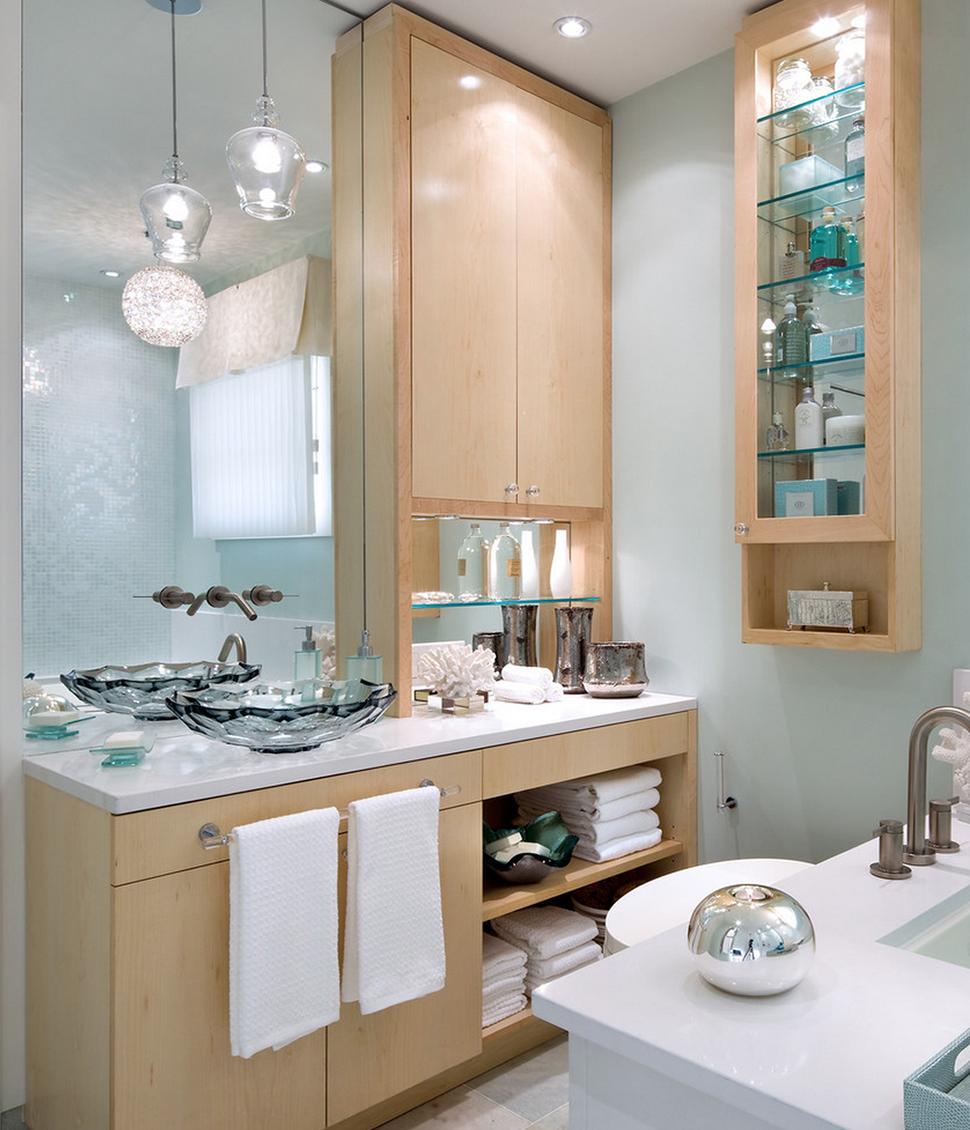 decorar lavabo antigo:Utilizar papel de parede adequado para lavabos dá-lhe uma opção