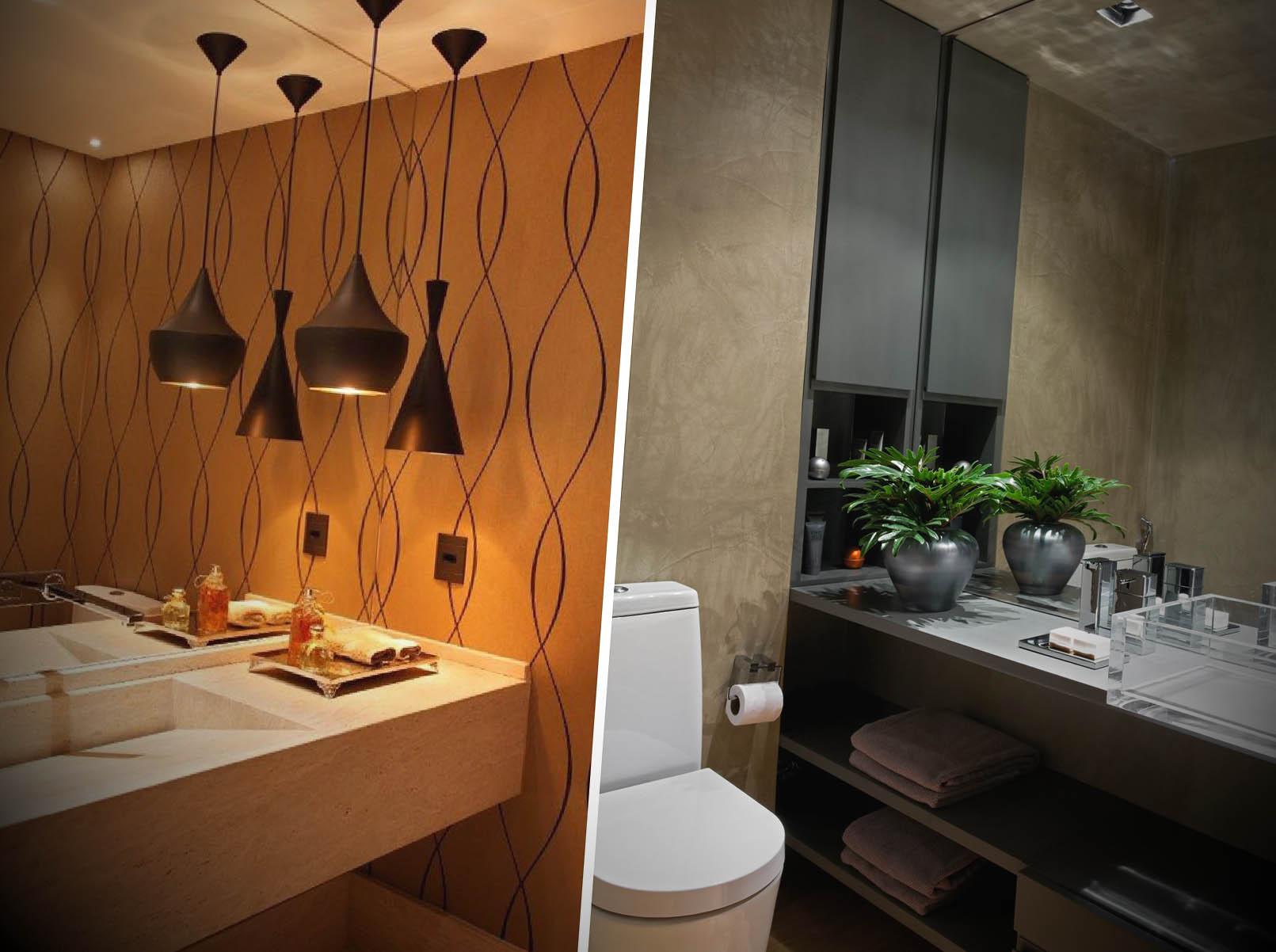 Vantagens em optar por papel de parede para lavabos #A76024 1611 1202
