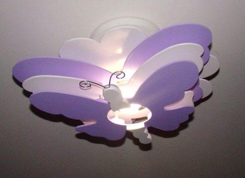luminaria borboleta p decoraco de quarto infantil e bebe