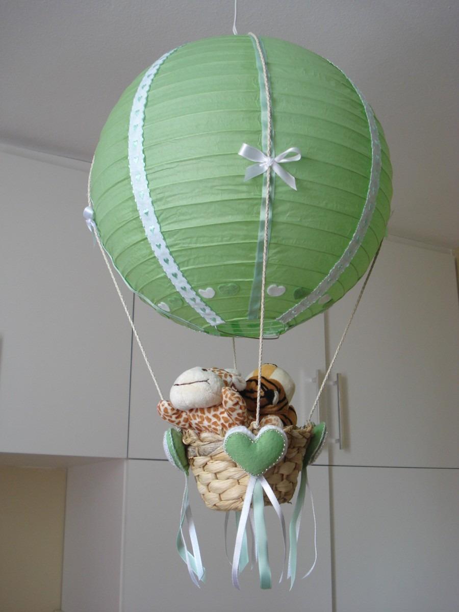 luminaria lustre balo para quarto bebe