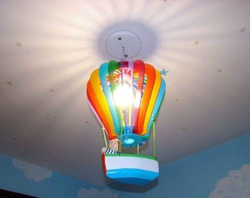 lustre balo menino para decoraco de quarto de bebe