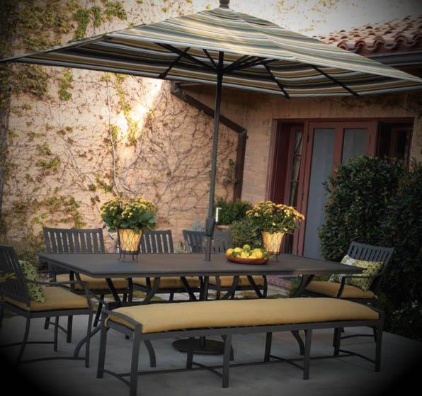 mesa de jardim ferro:Modelos de Mesas para Jardins