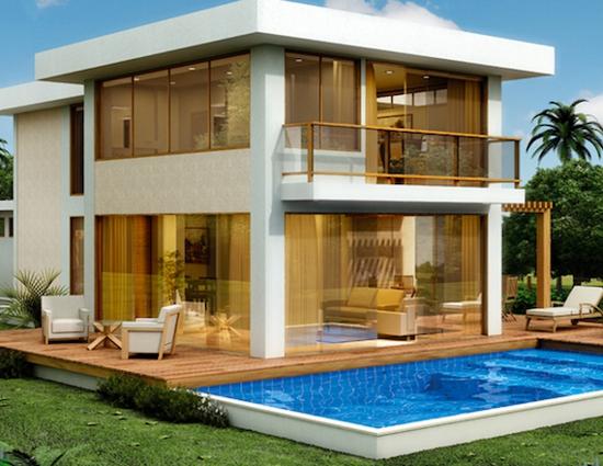 projetos de casas de praia modernas