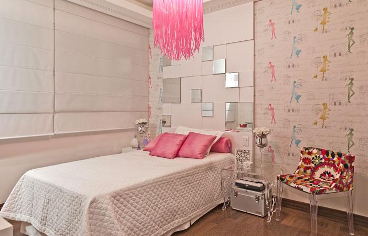 quarto de menina cor de rosa