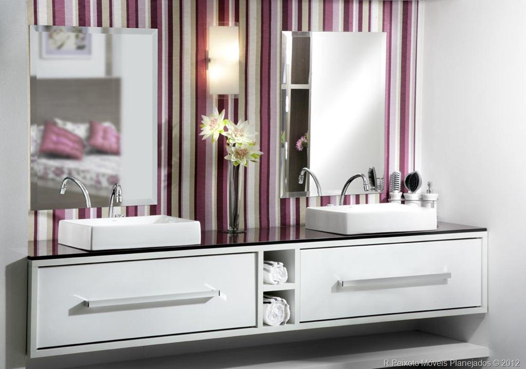 decoracao no banheiro : decoracao no banheiro: no mercado, é hoje em dia possível criar banheiros incríveis e