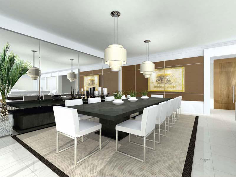 sala de jantar de luxo