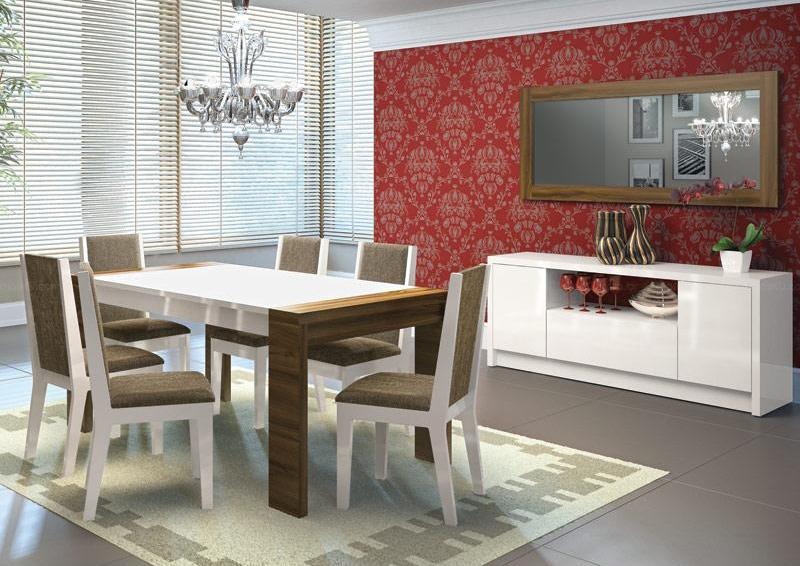 sala de jantar planejada